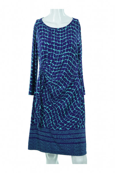 Donna Morgan, Women's Blue  Dress - Size: S (Regular)