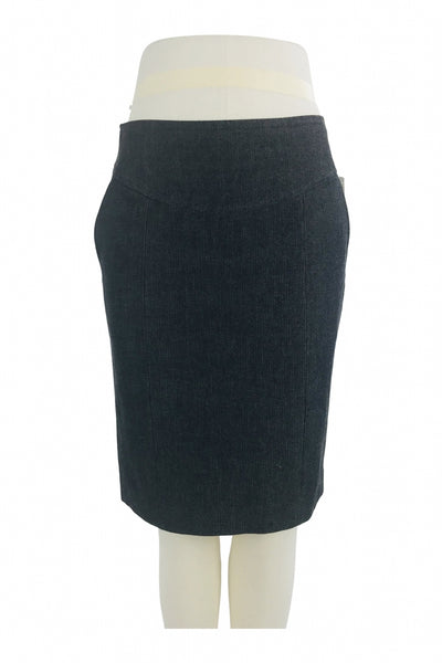 Banana Republic, Women's Black Pencil Skirt - Size: 6 (Regular)