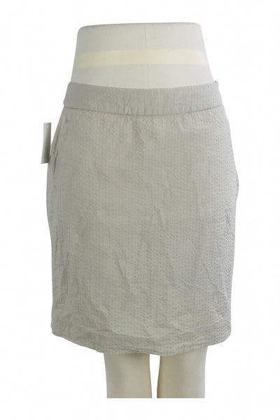 L.L.Bean, Women's Ivory Pencil Skirt - Size: 8 (Regular)