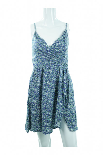 Abercrombie & Fitch, Women's Blue And White Dress - Size: M (Regular)
