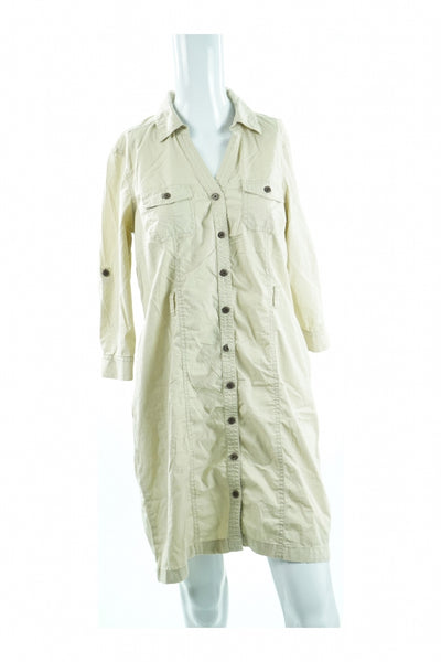 Sonoma, Women's Off White Dress - Size: S (Regular)
