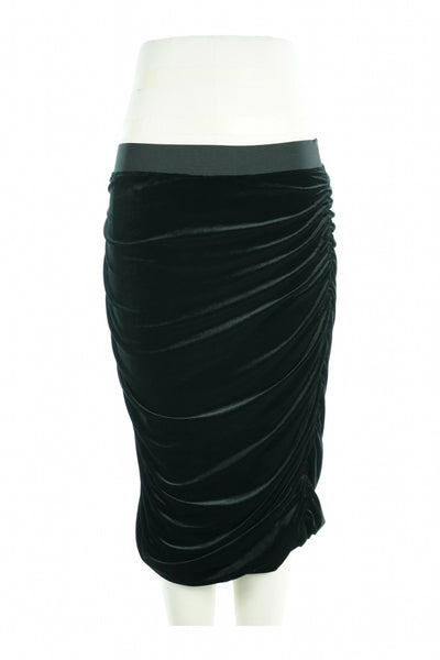 H&M, Women's Black Skirt - Size: M (Regular)