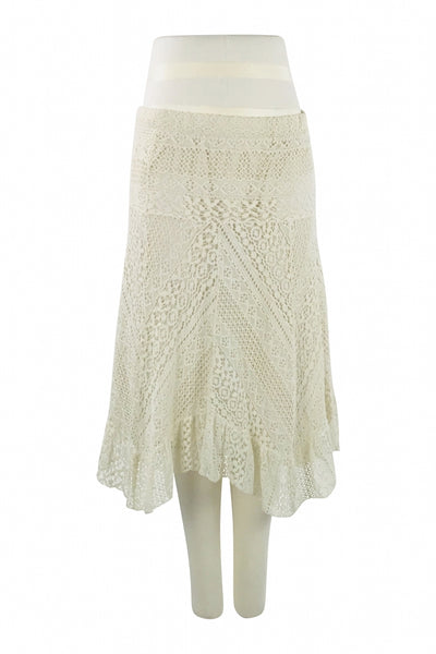 J Gee, Women's Beige  Skirt - Size: L (Regular)
