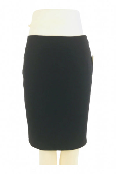 Daisy Fuentes, Women's Black Skirt - Size: S (Regular)