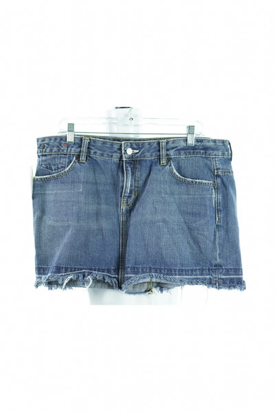 1969, Women's Blue Denim Skirt - Size: 16 (Regular)