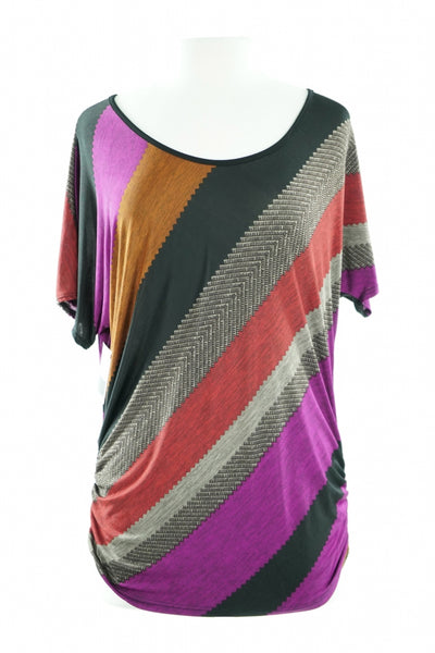 Lavish, Women's Multicolor  Top - Size: M (Regular)