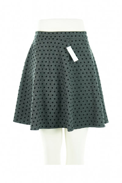 Premise Studio, Women's Black And White Polka Dot Skirt - Size: S (Regular)