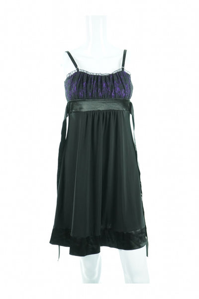 Taboo, Women's Black Sleveless  Dress - Size: L (Regular)