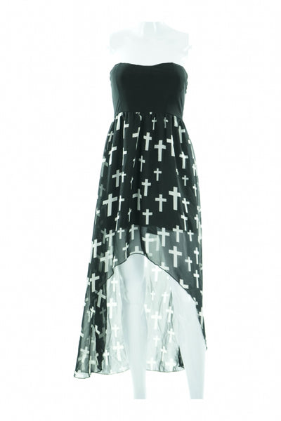 Velvet Room, Women's Black And White  Dress - Size: S (Regular)