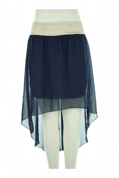Bella D, Women's Blue Skirt - Size: M (Regular)