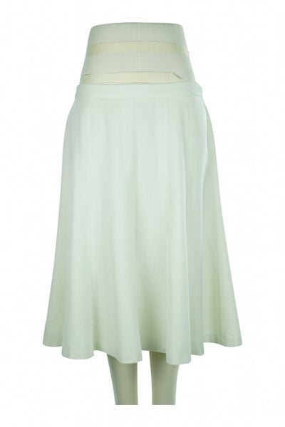 East 5th, Women's White Skirt - Size: 14 (Regular)