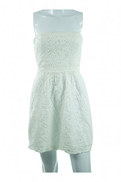 Gap, Women's White  Dress - Size: 4 (Regular)