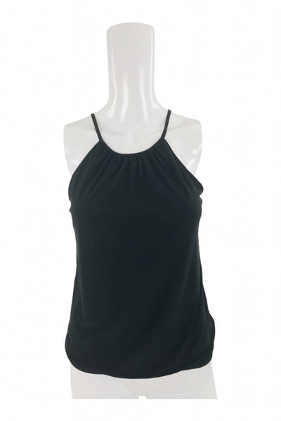 Express, Women's Black Spaghetti Strap Top - Size: XS (Regular)