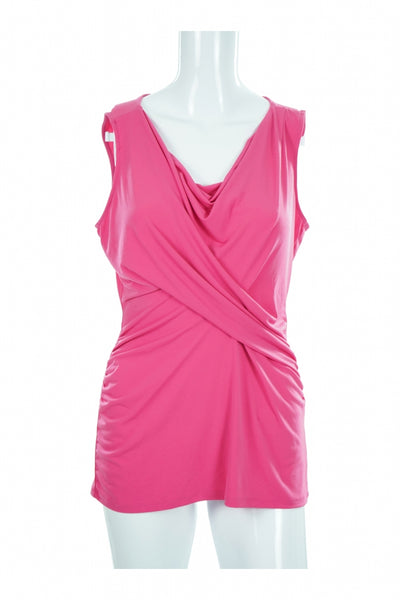 New York & Company, Women's Pink Top - Size: M (Regular)