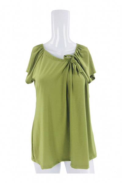 Suzie In The City, Women's Green  Top - Size: XL (Regular)