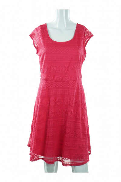 Xhilaration, Women's Red Dress - Size: L (Regular)