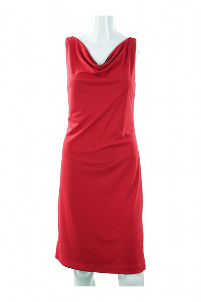Express, Women's Red Tube Dress - Size: 6 (Regular)