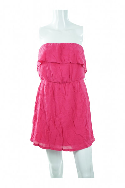 Charlotte Russe, Women's Pink  Dress - Size: M (Regular)
