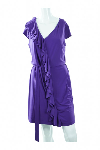 Calvin Klein, Women's Purple Dress - Size: 10 (Regular)