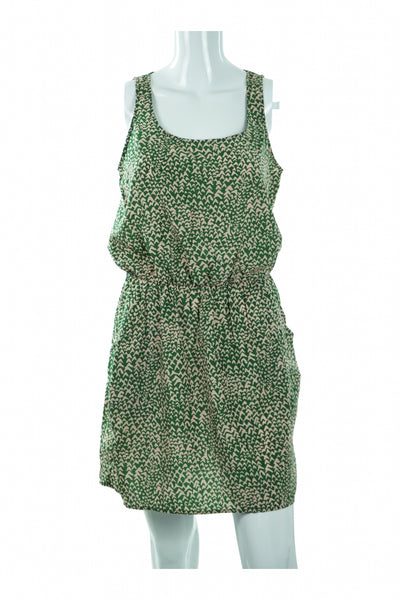 Guess, Women's Green  Sleeveless Dress - Size: S (Regular)