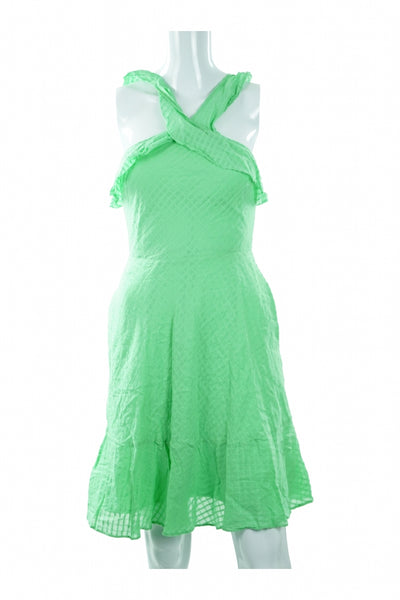 Banana Republic, Women's Green Sleeveless Dress - Size: 0 (Regular)