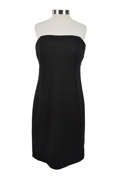Massimo, Women's Black Tube Dress - Size: 8 (Regular)