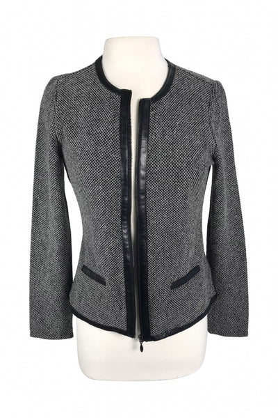 Charter Club, Women's Gray Jacket - Size: M (Regular)