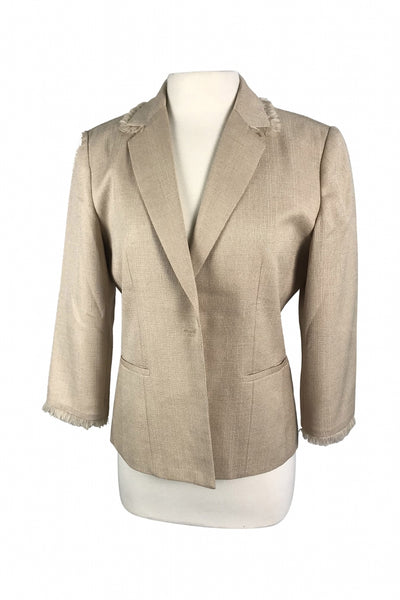 Requirements, Women's Brown Jacket - Size: 10 (Regular)