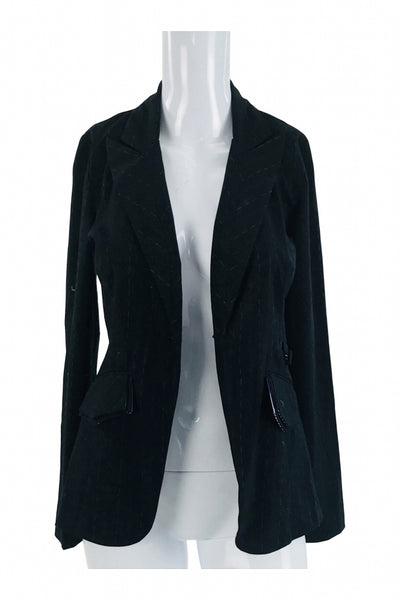 XOXO, Women's Black Cardigan - Size: S (Regular)