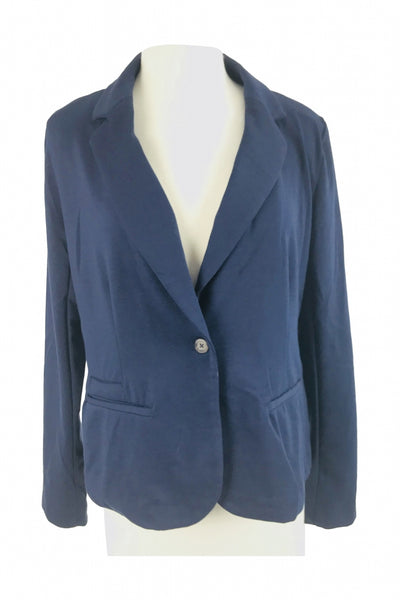 Merona, Women's Blue Jacket - Size: XL (Regular)