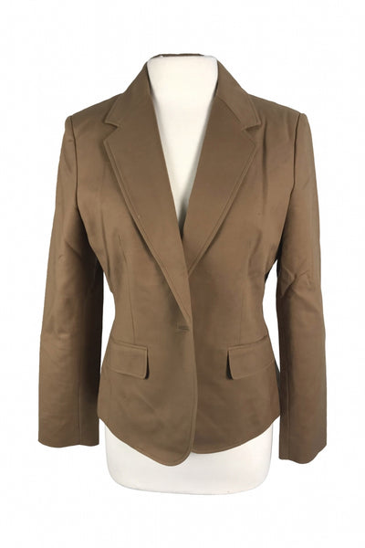New York & Company, Women's Brown Formal Coat - Size: 10 (Regular)