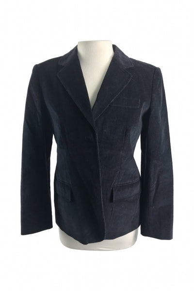Rafaella, Women's Black Notched-lapel Suit Jacket - Size: 8 (Regular)