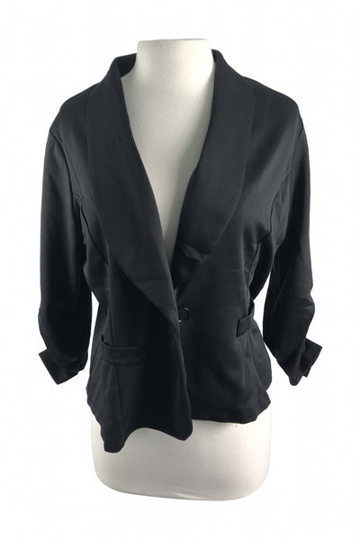 FASHION TO FIGURE, Women's Black  Jacket - Size: 2XL
