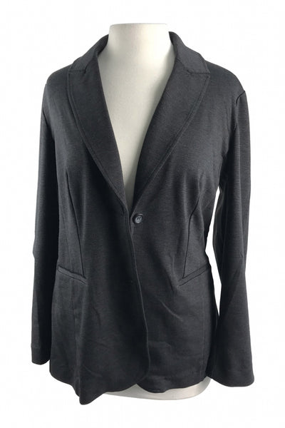 Fashion Bug, Women's Black Blazer - Size: M (Regular)
