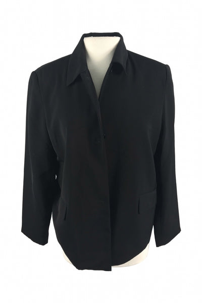 Vilacer, Women's Black Dress Jacket - Size: 12 (Regular)