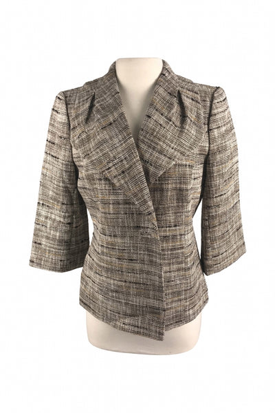 Classiques Entier, Women's Brown And Black Jacket - Size: M (Regular)
