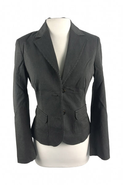 Sprt Collection, Women's Black Suit Jacket - Size: 6 (Regular)