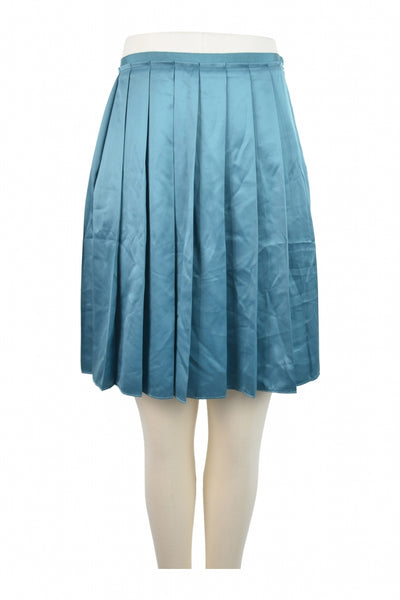 Unbranded, Women's Blue Skirt - Size: 2 (Regular)