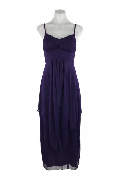 En Focus Studio, Women's Purple Sleeveless Dress - Size: 4 (Regular)