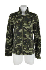 Charlotte Russe, Women's Black And Green Jacket - Size: M (Regular)