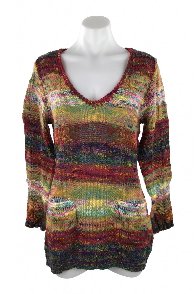 Bobbie Brooks Women S Multi Color Sweater Size M Regular