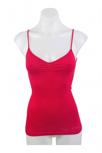 Guess, Women's Red Spaghetti Strap Top - Size: XS (Regular)