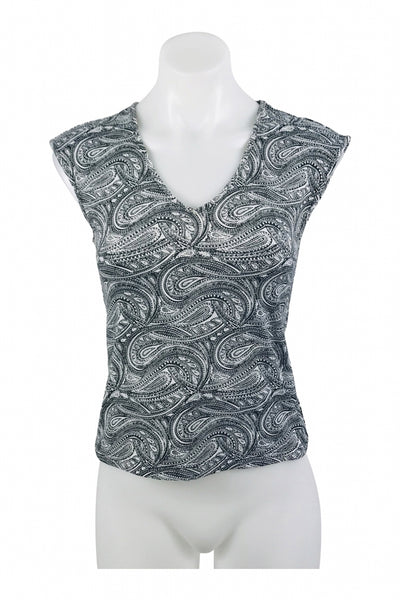 The Limited, Women's Black And White Blouse - Size: S (Regular)