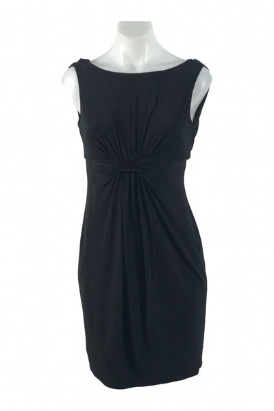 Evan Picone, Women's Black Sleeveless Dress - Size: 2 (Petite)