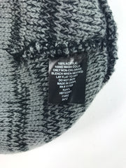 Unbranded, Women's Black And Gray Beanie Hat - Size: One Size (Regular)