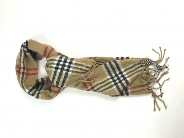 Van Heusen, Women's Brown And Black Plaid Scarf - Size: One Size (Regular)