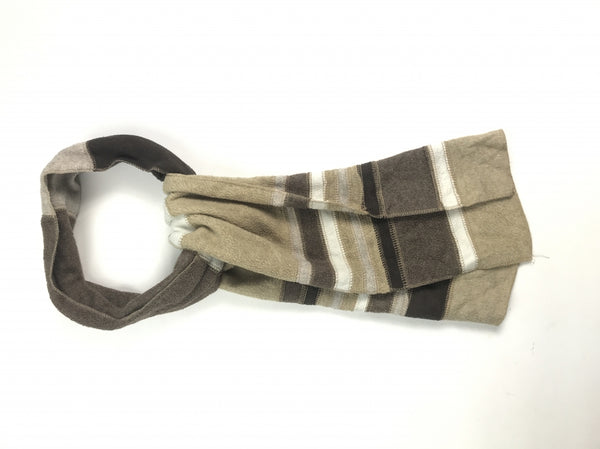 St Jones Bay, Women's Brown And White Scarf - Size: One Size (Regular)