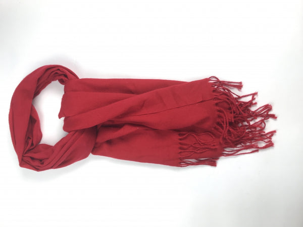 Pashmina, Women's Red Scarf - Size: One Size (Regular)