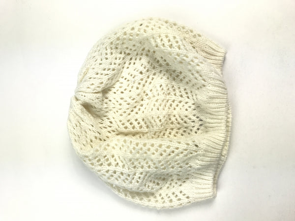 Unbranded, Women's Off White Hat - Size: One Size (Regular)
