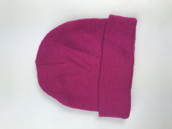 Unbranded, Women's Pink Beanie Hat - Size: One Size (Regular)
